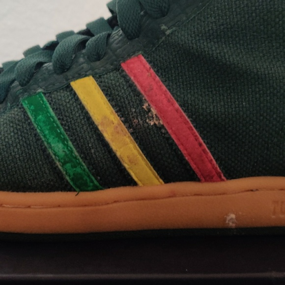 Adidas Tuff Gong Sneakers Bob Marley